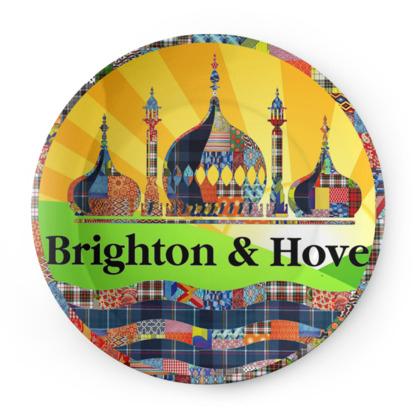 Brighton Flag Plate